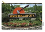 Silver Dollar City Sign Carry-all Pouch
