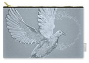 Silver Dove Carry-all Pouch