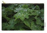 Silver Droplets Carry-all Pouch