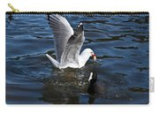 Silver Gull And Australian Coot Carry-all Pouch