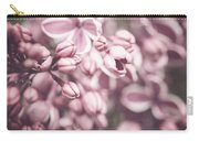 Silver Lilacs Carry-all Pouch