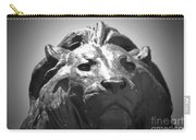 Silver Lion Carry-all Pouch