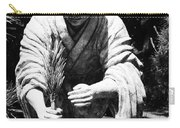 Silver-monk Carry-all Pouch