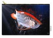 Silver Orange Arowana  Carry-all Pouch