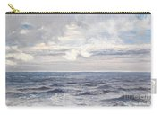 Silver Sea Carry-all Pouch