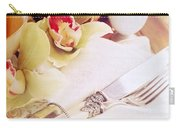Silver Service Breakfast Setting Carry-all Pouch