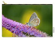 Silver-studded Blue Butterfly Carry-all Pouch