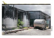Silver Tanks In Factory Carry-all Pouch