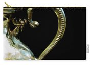 Silver Tea Pot Handle - Digital Oil Art Work Carry-all Pouch