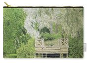 Silver White Willow Carry-all Pouch