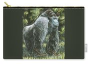 Silverback-king Of The Mountain Mist Carry-all Pouch