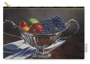 Silvered Fruit Carry-all Pouch