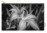 Silvered Lily Carry-all Pouch