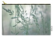 Silvery Green Grasses Carry-all Pouch