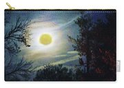 Silvery Moon Glow Carry-all Pouch