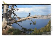 Silvery Tree Over Crater Lake Carry-all Pouch