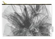 Simple Black And White Abstract Carry-all Pouch
