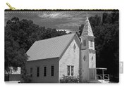 Simple Country Church - Bw Carry-all Pouch