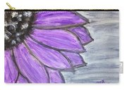 Simple Purple  Carry-all Pouch