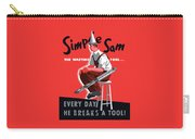 Simple Sam The Wasting Fool Carry-all Pouch