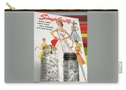 Simplicity Vintage Sewing Pattern - Color Carry-all Pouch
