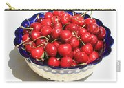 Simply A Bowl Of Cherries Carry-all Pouch