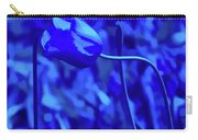 Simply Blue Pink Tulip Carry-all Pouch