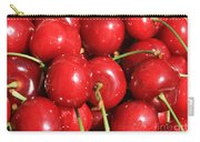Simply Cherries  Carry-all Pouch by Carol Groenen
