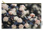Summer Wine Ninebark Blossom Carry-all Pouch