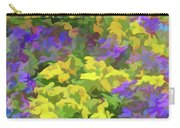 Simply Soft Colorful Garden Carry-all Pouch