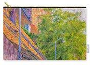 Simrishamn Street Scene Digital Painting Carry-all Pouch