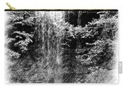 Simulated Pencil Drawing Tinker Falls. Carry-all Pouch