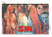 Sin By Murder Poster B Carry-all Pouch