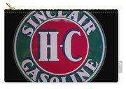 Sinclair Gasoline Porcelain Sign Carry-all Pouch