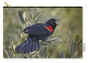 Sing Me A Song, Red-winged Blackbird Carry-all Pouch