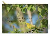 Sing To The Lord Carry-all Pouch