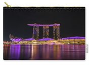 Singapore In Purple 1 Carry-all Pouch