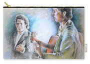 Singer And Guitarist Flamenco Carry-all Pouch