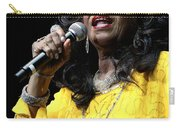 Singer Shirley Alston Reeves  Carry-all Pouch