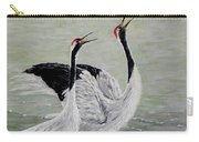 Singing Cranes Carry-all Pouch