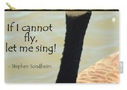 Singing Goose Carry-all Pouch