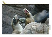 Singing Sea Lions Carry-all Pouch