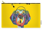 Singing The Blues - Dog Humor Carry-all Pouch