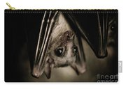 Single Bat Hanging Portrait Carry-all Pouch