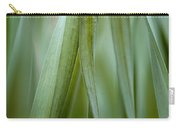 Single Blade Of Onion Grass Leaning - Color Version Carry-all Pouch