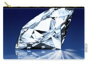 Single Blue Diamond Carry-all Pouch by Setsiri Silapasuwanchai