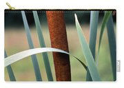 Single Cattail Carry-all Pouch