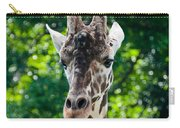 Single Giraffe Carry-all Pouch