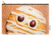 Single Homemade Mummy Cookie For Halloween Carry-all Pouch