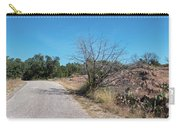 Single Lane Road In The Hill Country Carry-all Pouch